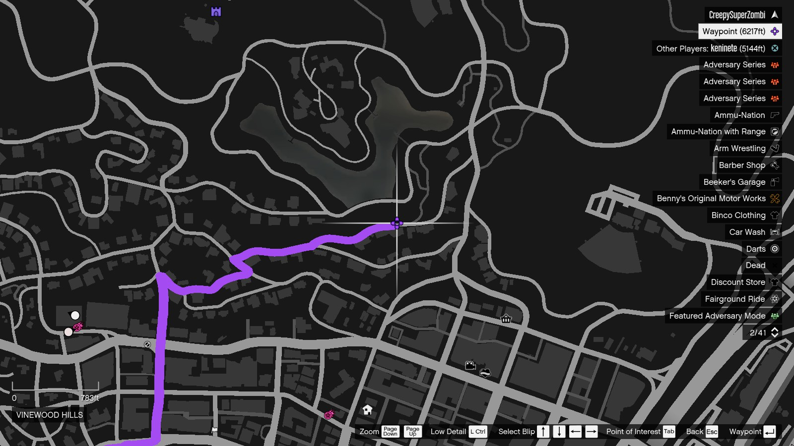 Location of Franklins House GTA Online